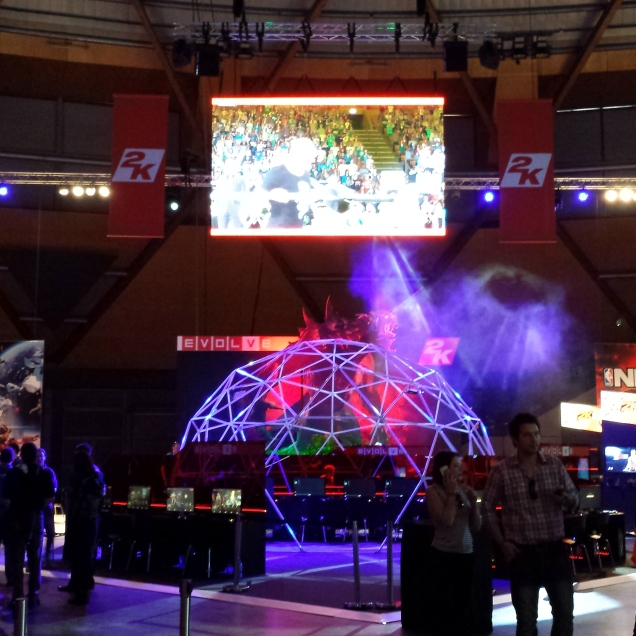 EB Games Expo 2014 - Rigging & Lighting