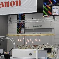 Canon rigging at Visual Impact 2015