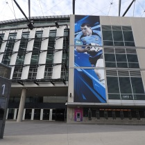 MCG large-scale banner Rigging